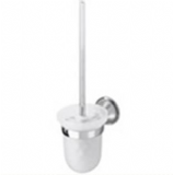 Chancery Wall Mounted Chrome Toilet Brush Holder - 01037240
